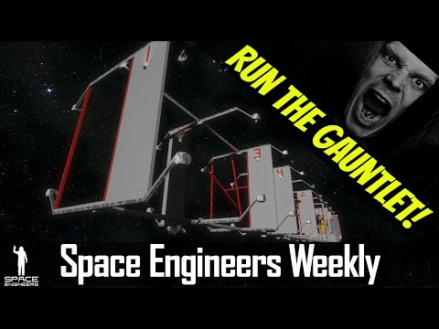 THE GAUNTLET and BEST SHIPS YOU'VE NEVER SEEN! - Space Engineers News - Week 2