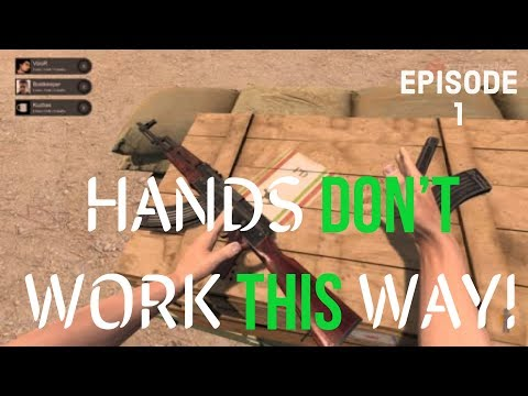 Hand Simulator - HANDS DON'T WORK THIS WAY!
