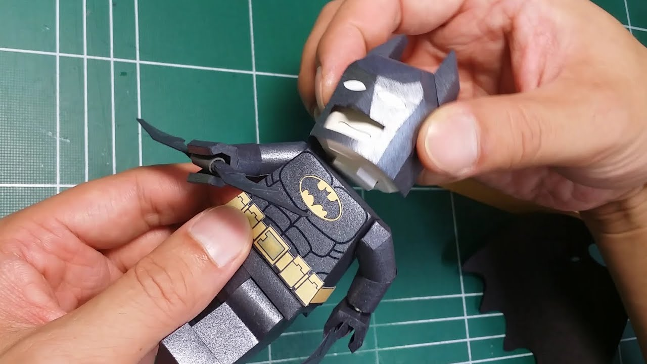 Papercraft 종이로 만든 레고 배트맨~~ 몸통2 (Body2)
