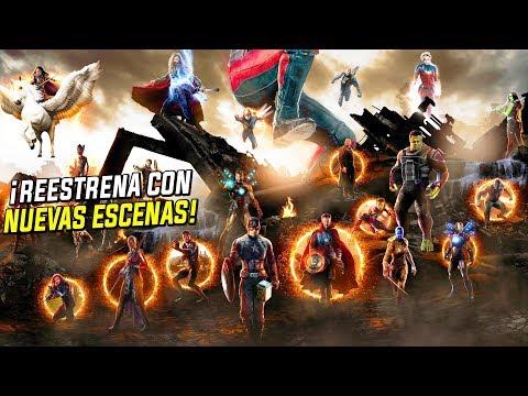 AVENGERS ENDGAME VOLVERÁ A CINES con NUEVAS ESCENAS *CONFIRMADO* (Explicado por Presidente Marvel)