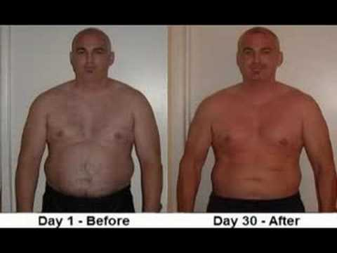 Before And After Weight Loss Time Lapse 30 Days Transformed Youtube