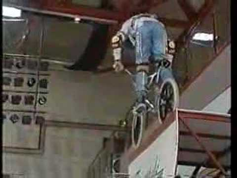 matt hoffman in the uk, 1987 (bmx beat)