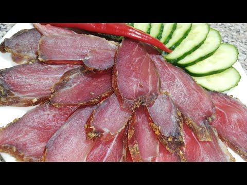 Вяленое мясо за 4 дня
