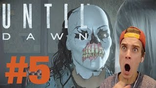 TOO MANY JUMP SCARES! | UNTIL DAWN #5