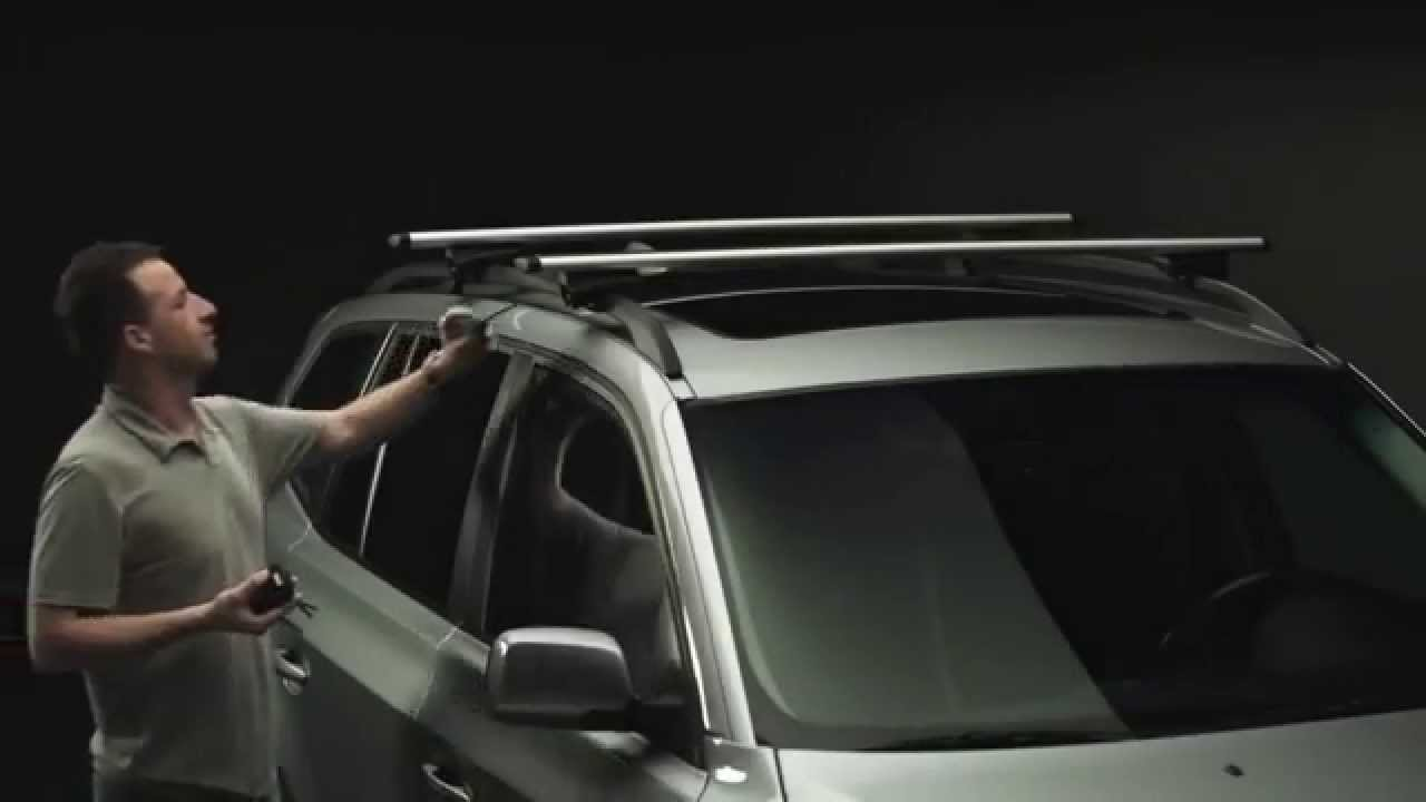 Roof Racks - Thule Rapid 775 - YouTube