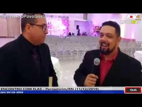 TESTE DE TRANSMISSÃO ENCONTRO COM ELAS