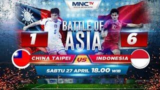 China Taipei VS Indonesia (FT 1 - 6) - Battle Of Asia