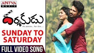 Sunday To Saturday Full Video Song    Darshakudu Full Video Songs     Ashok, Eesha