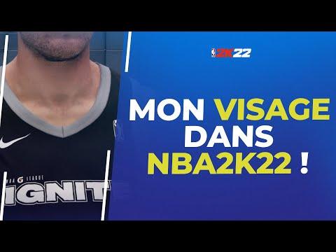 NBA2K22 : Comment numériser son visage dans le mode Carrière !