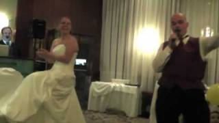 Funniest wedding dance - Dick in a box