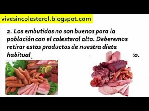 Alimentos altos en colesterol malo alimentos que suben el colesterol youtube - Alimentos q producen colesterol ...