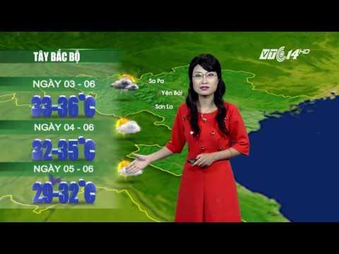(VTC14)_ Thời tiết 12h ngày 02.06.2016