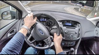 Ford Focus III | 4K POV Test Drive #193 Joe Black