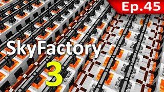 🏭 Minecraft: Sky Factory 3 - เจ้าพ่อแห่ง Lava #45