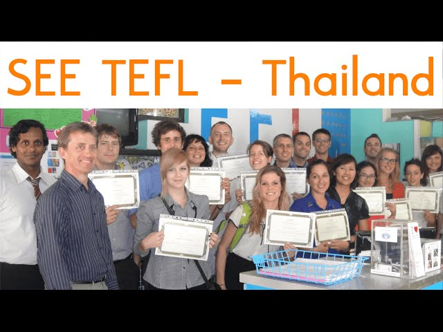 Tour of SEE TEFL - Chiang Mai, Thailand (old video)