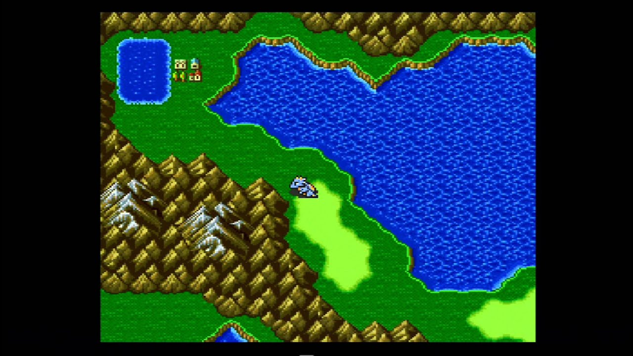 Final Fantasy V T Bagging The World Map With Hiryuu Youtube