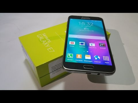 Samsung Galaxy E7 (16GB) Unboxing & First Look!