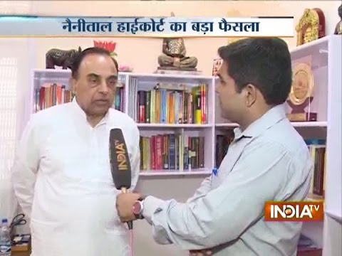 Subramanian Swamy Demands Removal of Attorney Gen and Solicitor Gen
