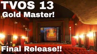 TVOS 13 Gold Master (Final)!!!