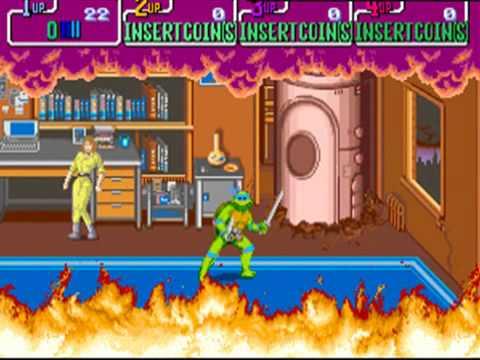Buy Teenage Mutant Ninja Turtles Arcade Game (1989) Online