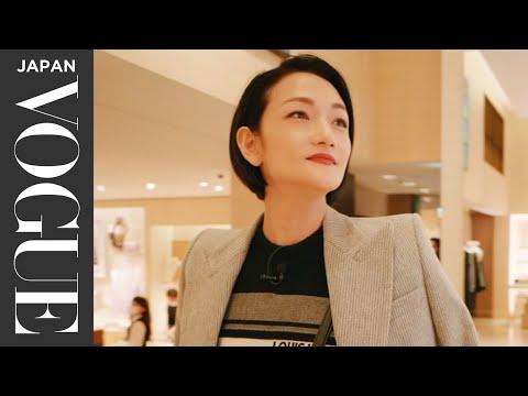 冨永愛とめぐる、サステナブルな表参道ショッピング。 Shopping with FNI VOGUE JAPAN