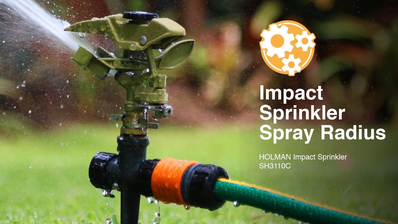 Water Spray Heads How To Adjust The Spray Pattern And