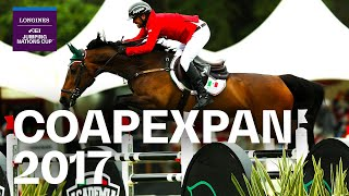 RE-LIVE | Longines Grand Prix - Coapexpan 2017 (MEX) | Longines FEI Jumping Nations Cup™