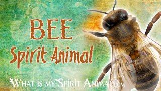 Bee  Spirit Animal | Bee Totem & Power Animal | Bee  Symbolism & Meanings