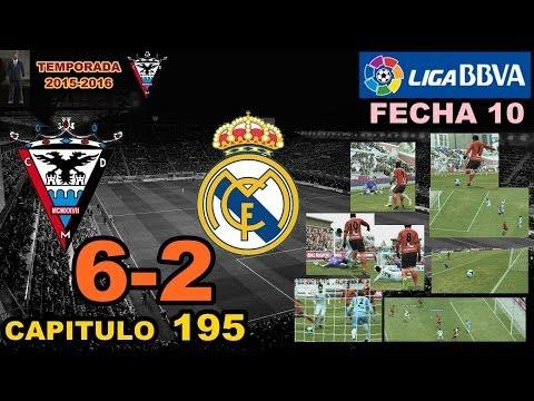 PES 2013 | CAP 195 | LIGA BBVA/FECHA 10 | CD MIRANDES 6-2 REAL MADRID