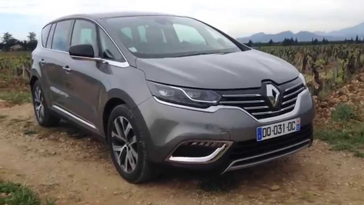 renault espace v 2015 youtube. Black Bedroom Furniture Sets. Home Design Ideas