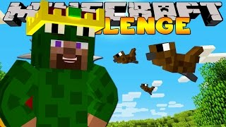 Minecraft Challenge - KING OF THE SKIES!