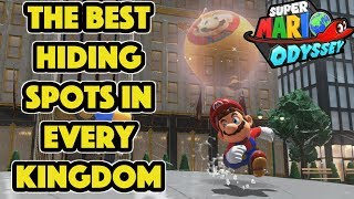The Best Hiding Spots in Every Kingdom - Luigi's Balloon World: Super Mario Odyssey