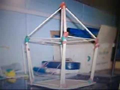 Earthquake resistant model house