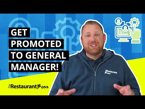 RESTAURANT MANAGER TRAINING: 3 Tips How To Advance To General Manager