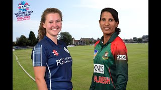Scotland v Bangladesh LIVE: ICC T20 World Cup qualifier