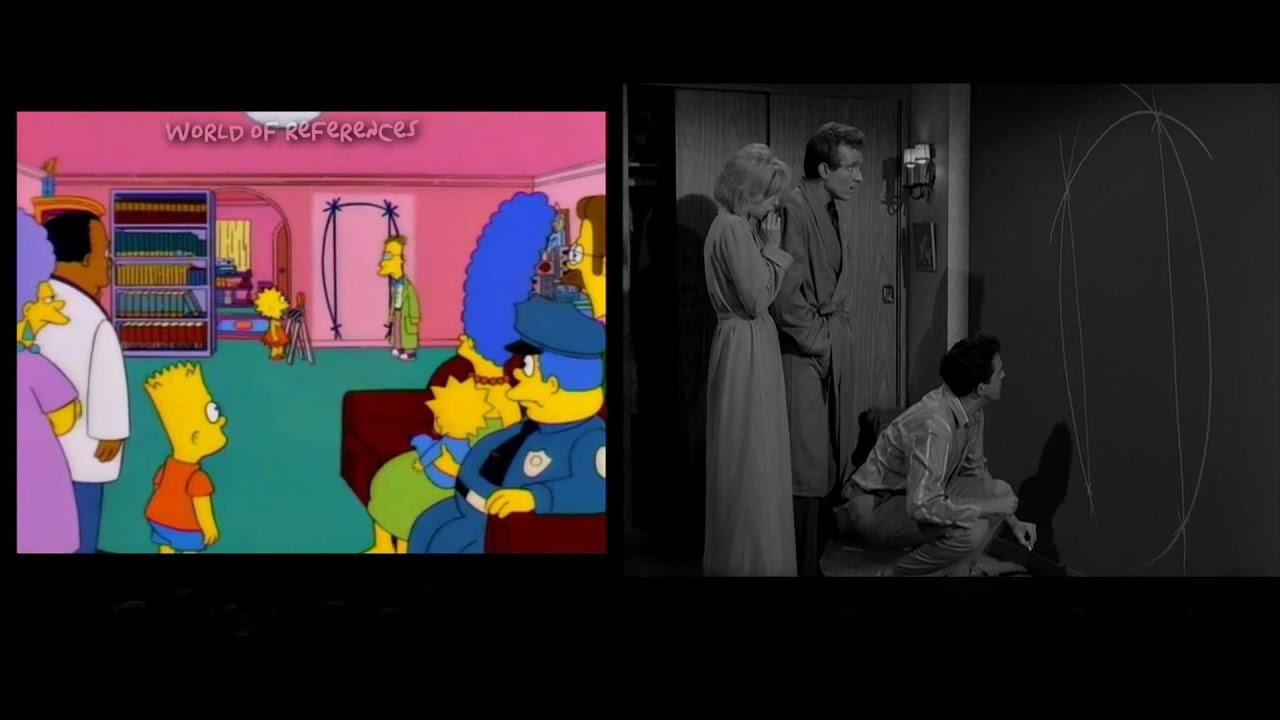 The Simpsons Treehouse Of Horror Movie References Part 6 Youtube