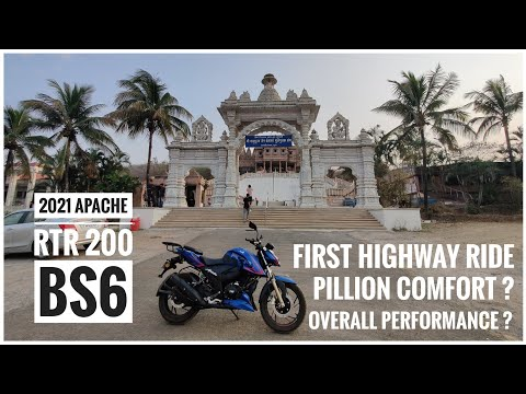 2021 TVS APACHE RTR 200 4V | First Short Highway Ride with Pillion | Review | Feedback | DNA VLOGS
