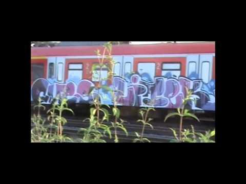 Graffiti Train Bombings AdrenalinRuhrpott HD