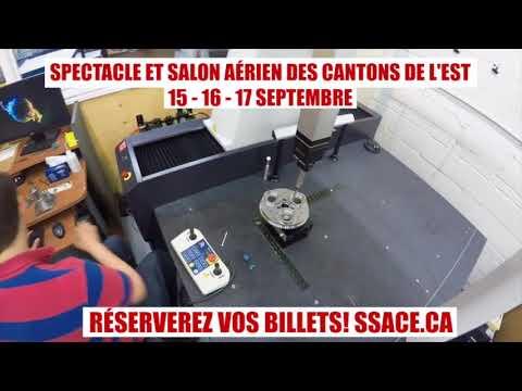 ATLAS AERONAUTIK Au Spectacle & Salon Aérien Des Cantons De L'EST