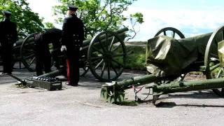 Salutt Akershus festning 17. mai 2011