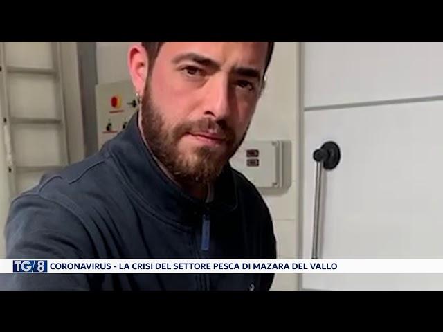 Coronavirus, la crisi del settore pesca
