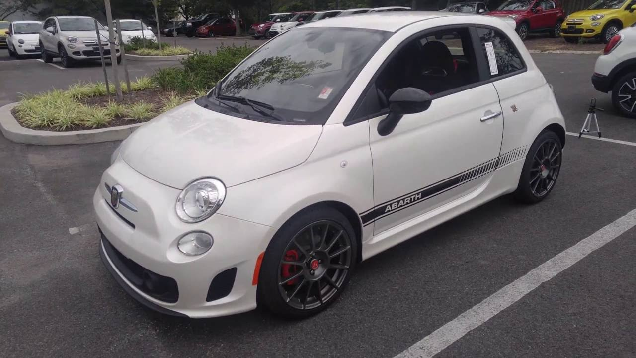 0 60 Reviews 2016 Fiat 500 Abarth First Person Review