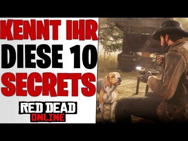 KENNT IHR DIESE 10 DINGE SCHON ? - Unnützes Cowboy Wissen | Red Dead Redemption 2 Online