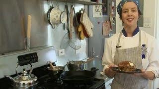 Banana Oatmeal Pancakes Recipe : Making Pancakes