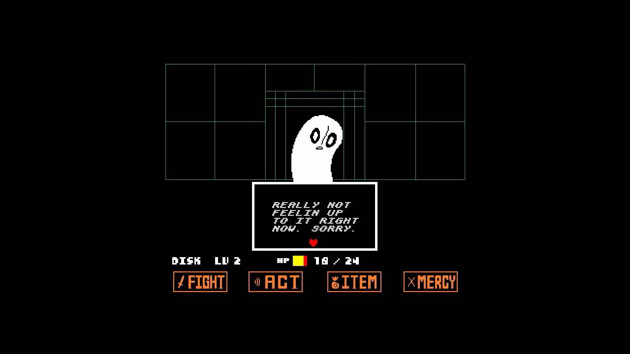 Fight Quotes Wallpaper Undertale Napstablook Battle Youtube
