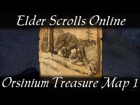 Orsinium Treasure Map 1 [Elder Scrolls Online] ESO
