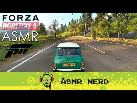 ASMR Gaming | A Relaxing Spring Drive Through the British Countryside in Forza Horizon 4 thumbnail