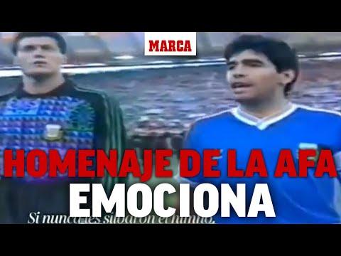 Emocionante video, a seis meses de la muerte de Maradona