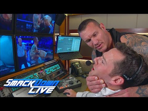 Randy Orton reviews his vicious assaults on Jeff Hardy: SmackDown , Sept 18, 2018