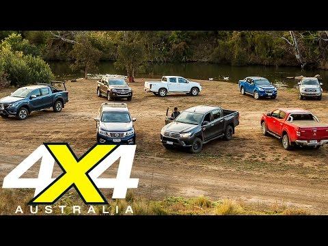 8-Way Ute comparison | New Hilux vs the Rest | 4X4 Australia